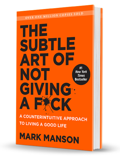 Subtle Art Not Giving Fck MarkManson SpritTimes2018