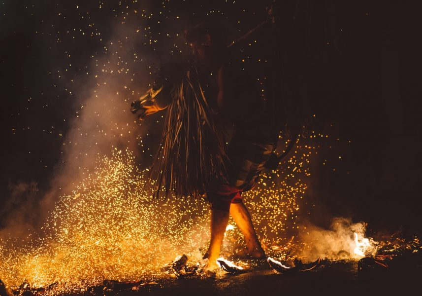 Spirit Times: Shamanism 101. A Shamanic Fire Dance In Indonesia.